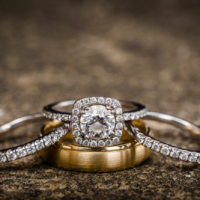 Wedding ring shot photography