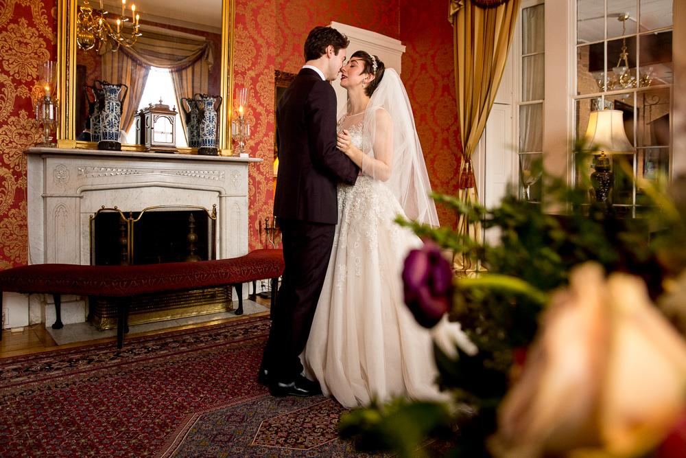 bride groom reveal