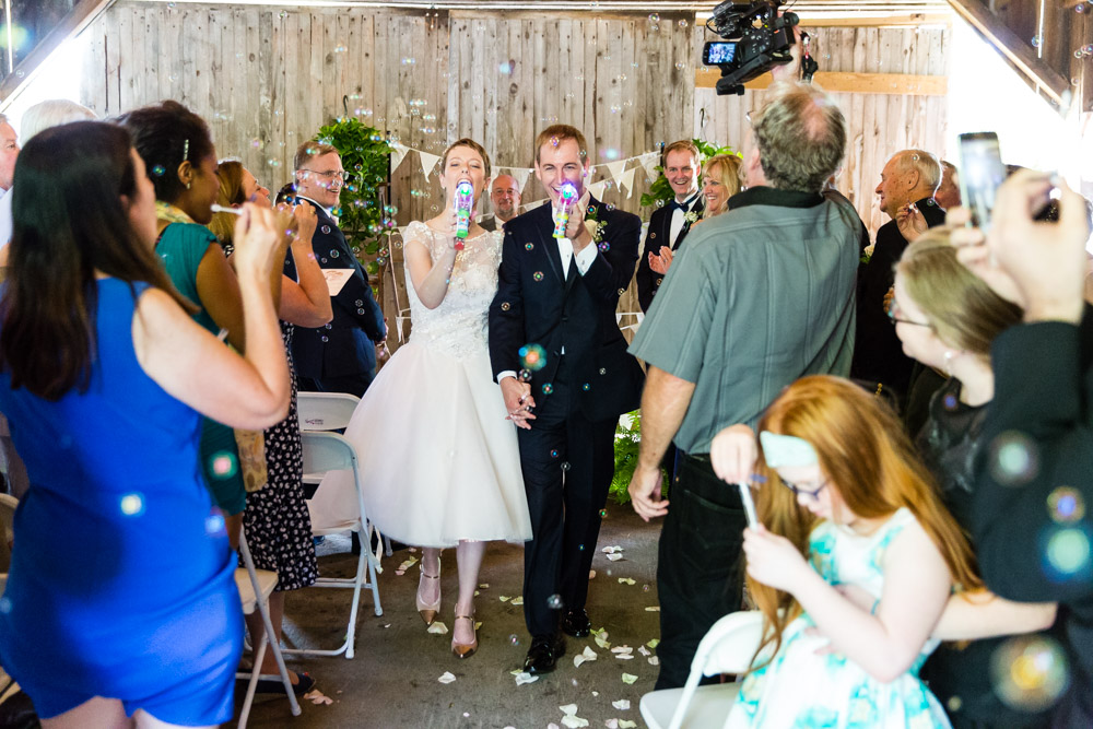 Bride and Groom bubbles